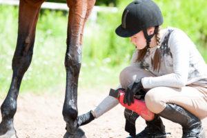 Toujours verifier les jambes de son cheval.